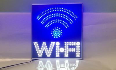 Светодиодная табличка Wi-Fi