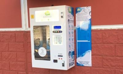 Оформление автомата по продаже воды